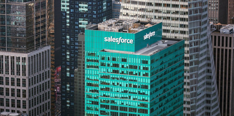 Salesforce building in San Francisco