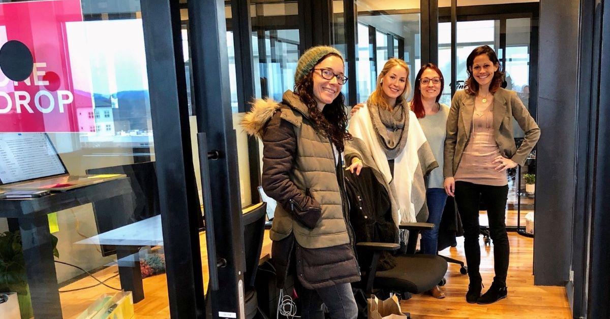 Entrepreneurs in WeWork office in Nashville