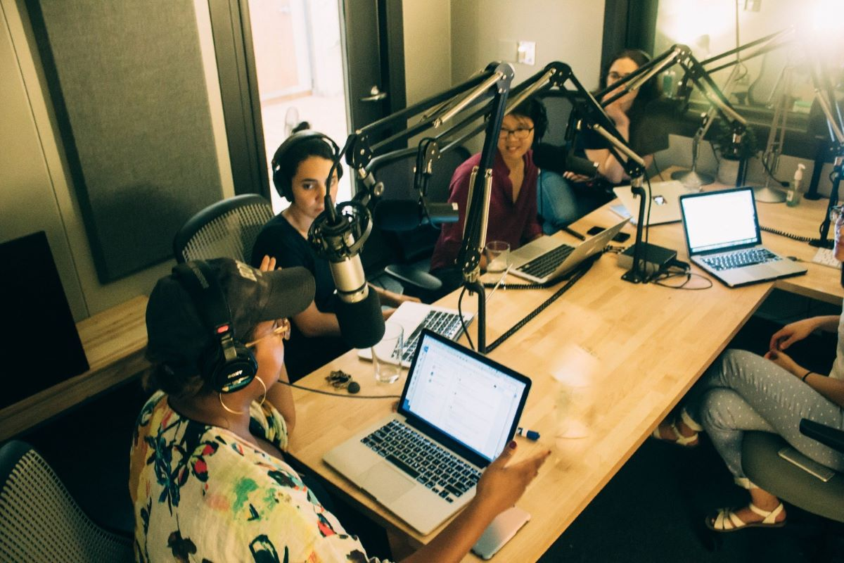 Cole Haan on radio and podcast