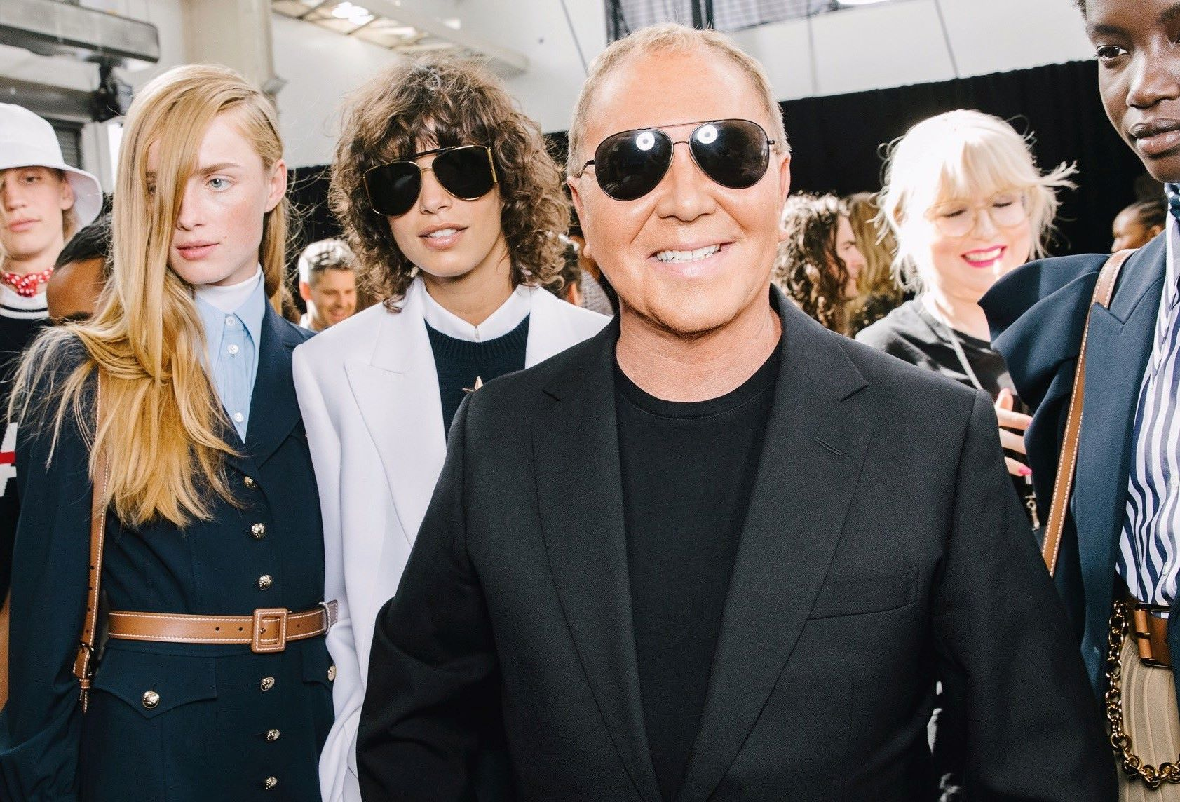 Michael Kors in a fashion show