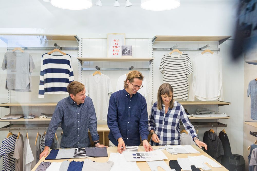 Old Navy stylist and designer collaborate in a collection release