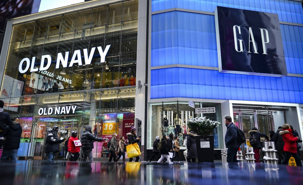 Old Navy store in New York adjacent to Gap
