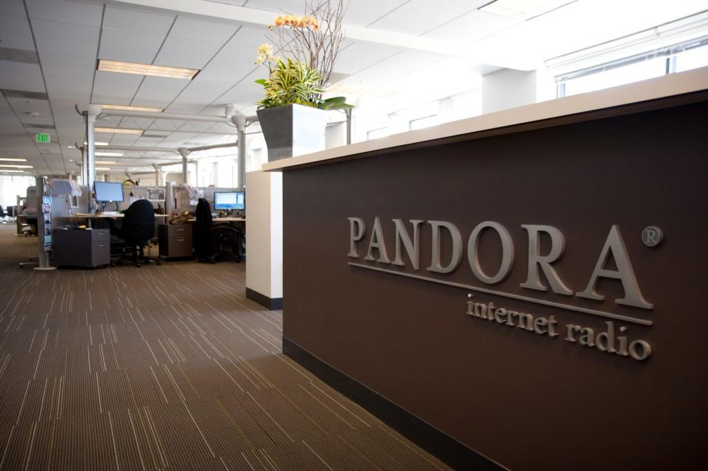 Pandora headquarters office