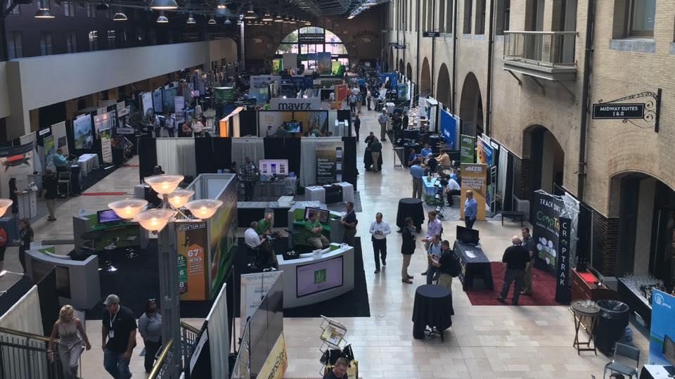 companies showcase in Saint Louis convention center
