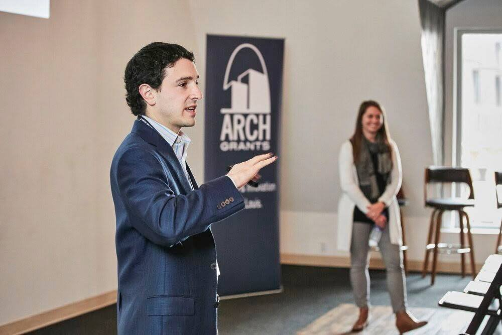 Arch grants staff present in a meetup event