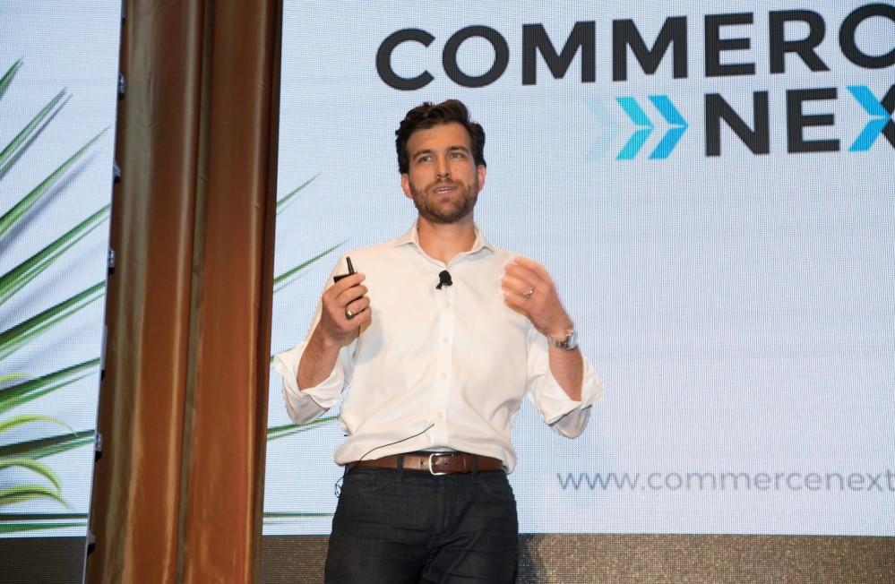 keynote speaker at CommerceNext