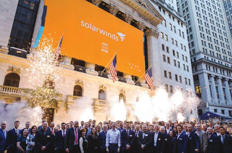 SolarWinds CEO at NYSE