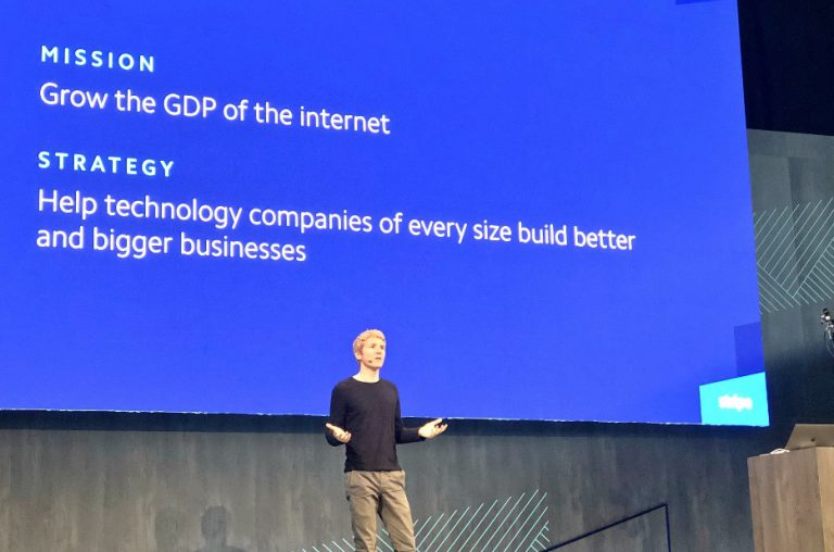 Stripe CEO present the product