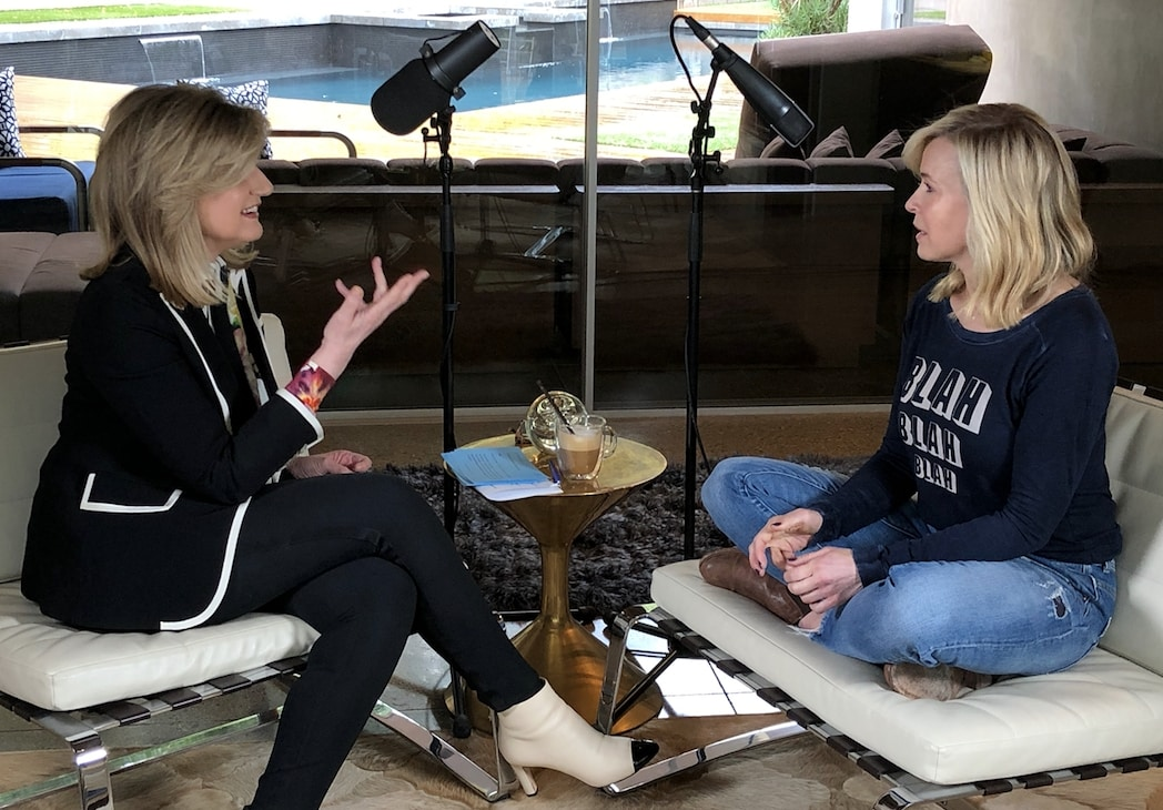 Arianna Huffington in an interview at for female entrepreneurs