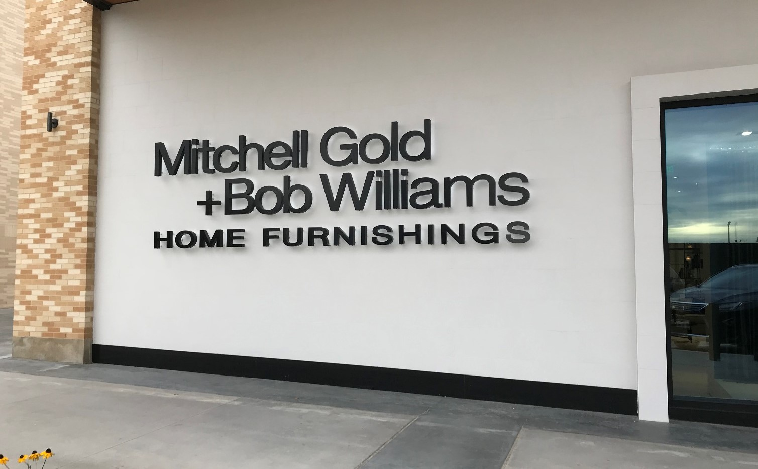 a Mitchell Gold + Bob Williams showroom in Beverley Hills