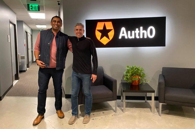 Eugenio Pace at Auth0 headquarters