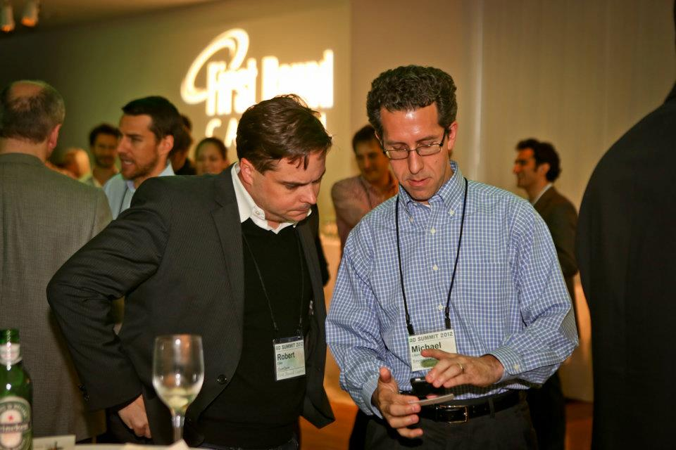 People network at First Round event