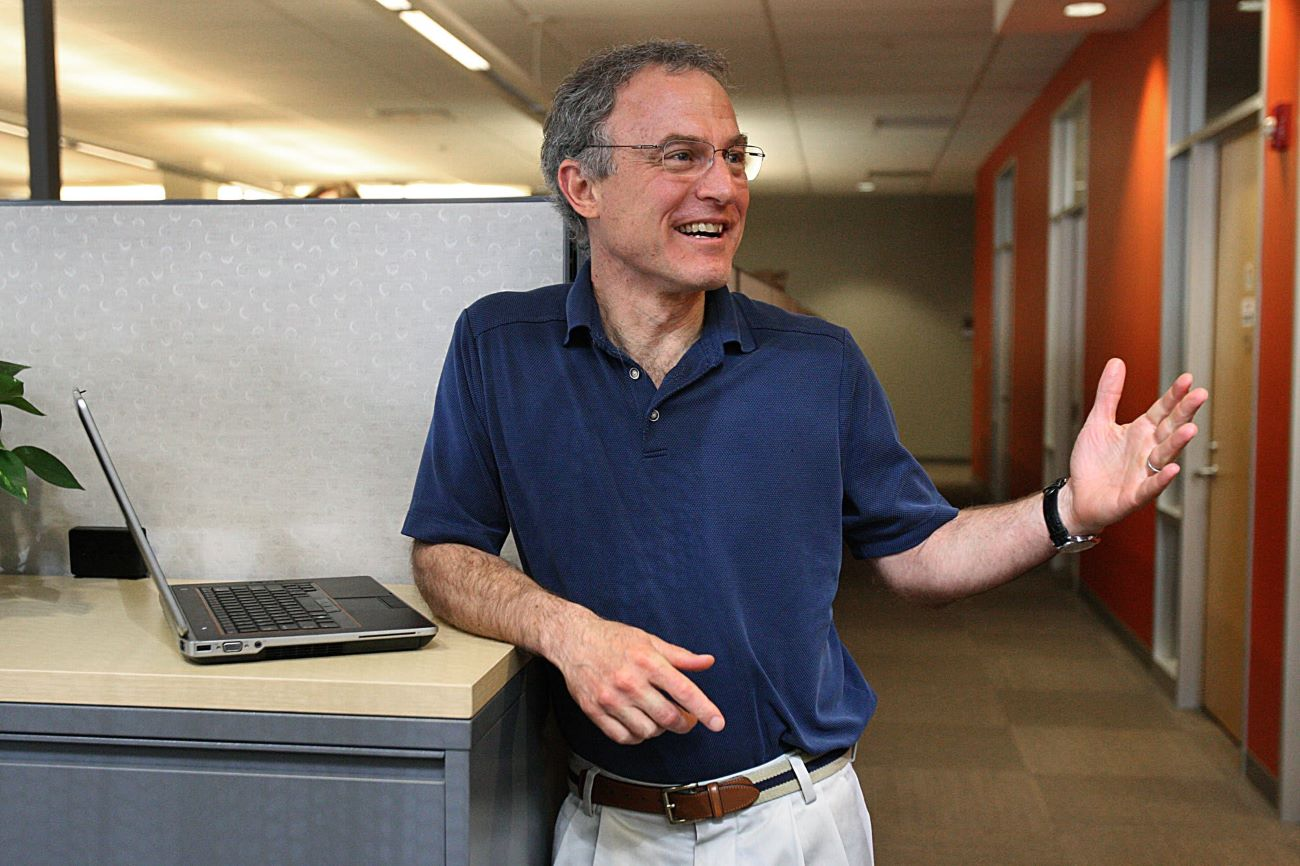 Stephen Kaufer at the headquarter office