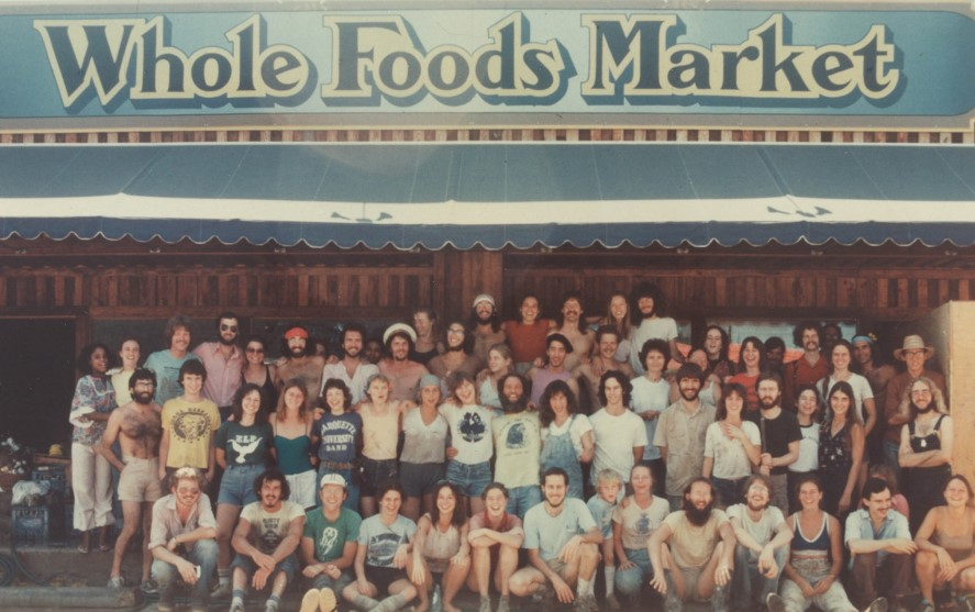 The old Whole Foods market in early days