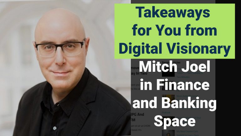 A Story from Mitch Joel, Named as a Rock Star of Digital Marketing