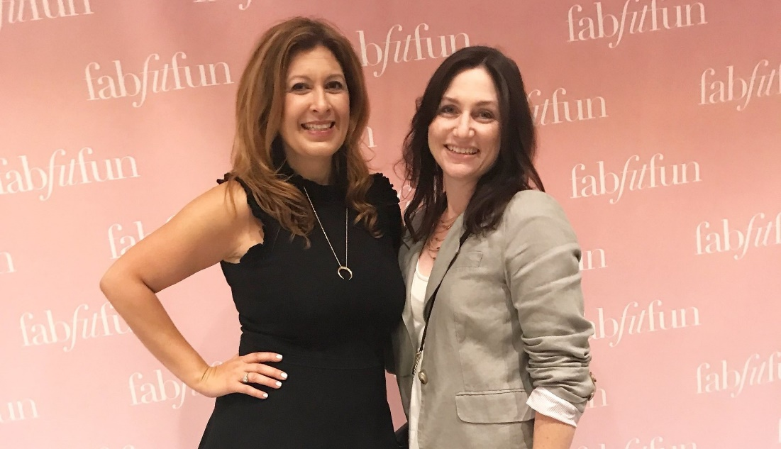 Fabfitfun co-founder at a conference event