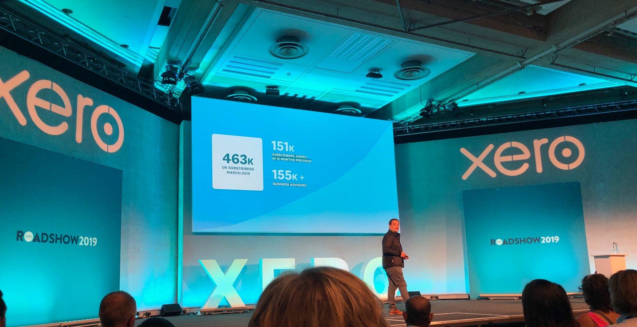 Xero demonstrate product