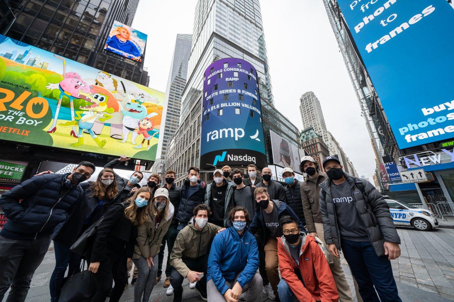 Ramp team in headquarters