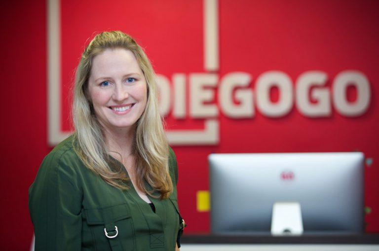 Indiegogo CEO and founder Danae Ringelmann at headquarter
