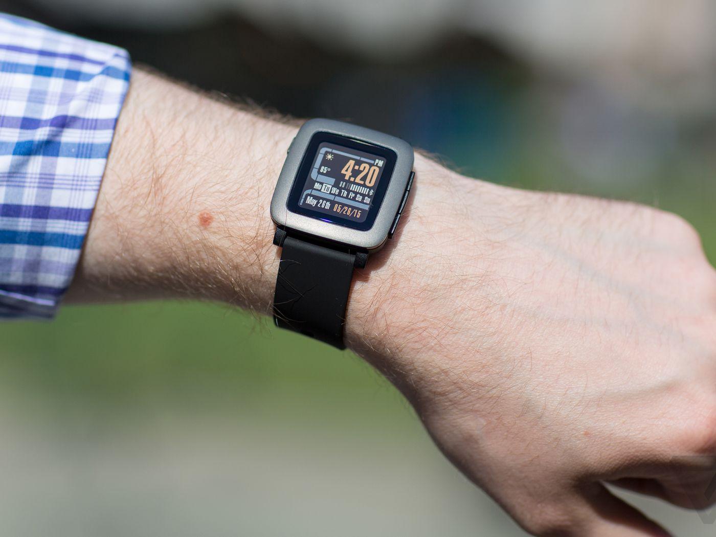 The watch demo from Kickstarter