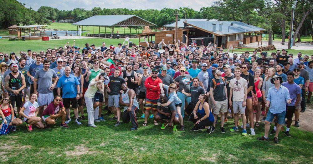 FloSport consumers in an outdoor activity