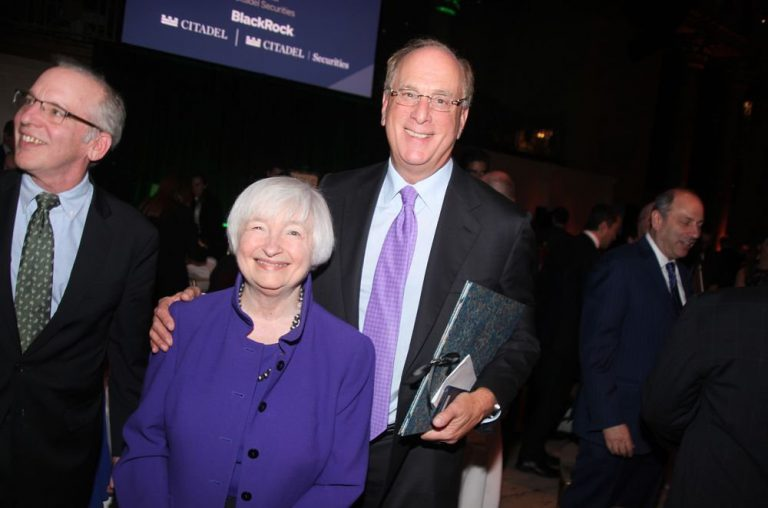 Larry Fink in an annual event