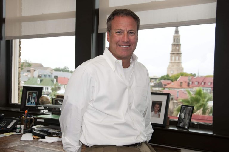 Greystar CEO at his office in headquarters