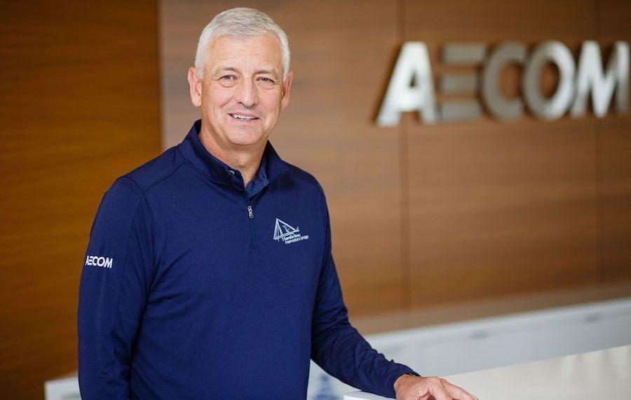 AECOM CEO at the headquarters