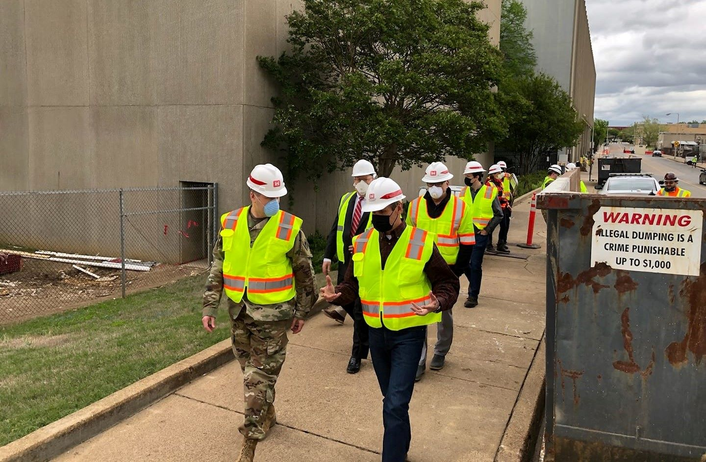 AECOM collaborate with stakeholders from Military base