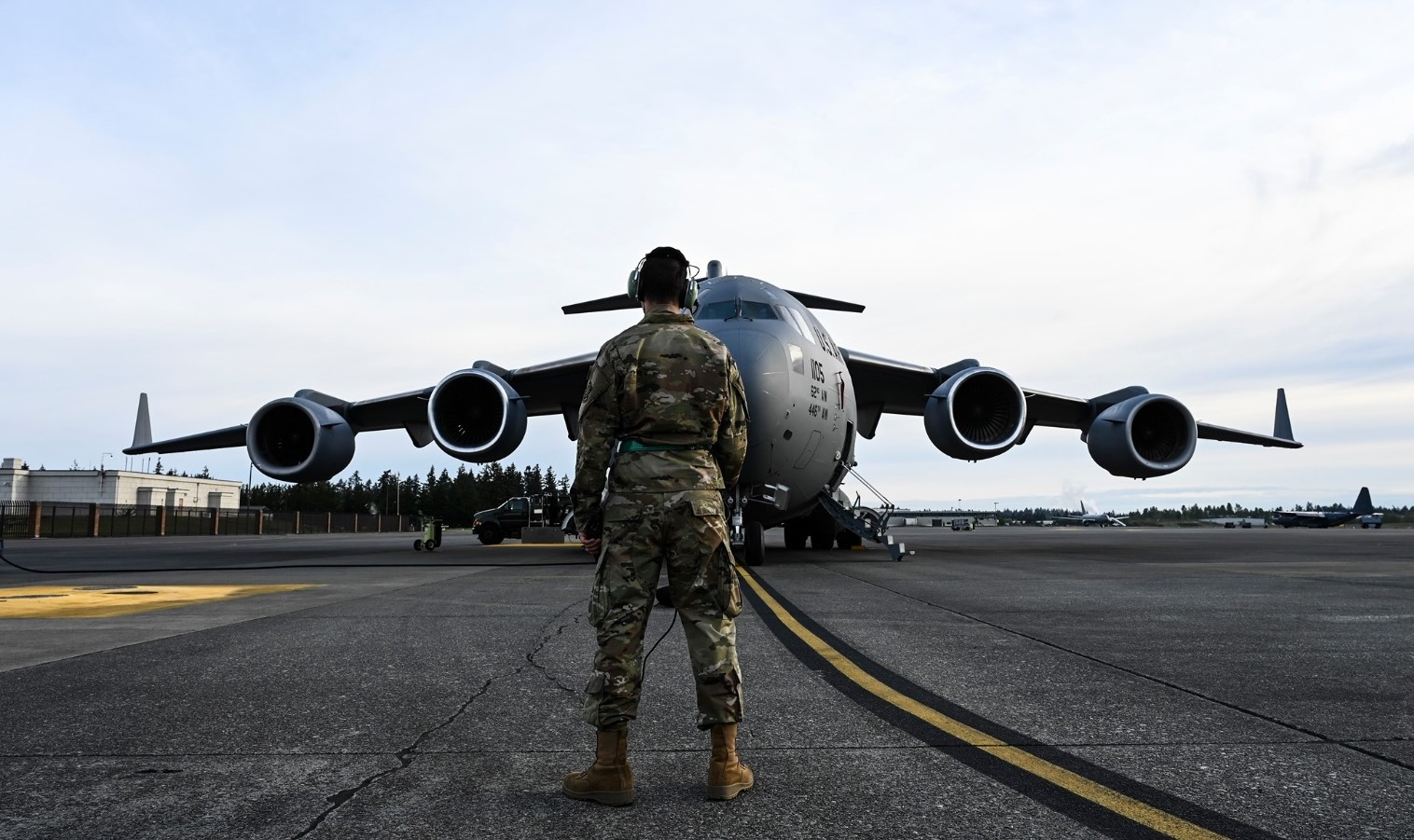 AECOM won contract from US Airforce