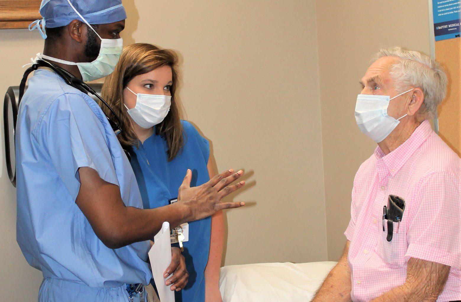 Dr. Eric McClendon and Amanda Edwards