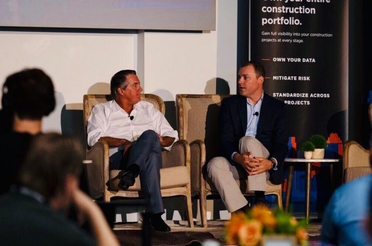 Procore CEO in an interview at project management in construction