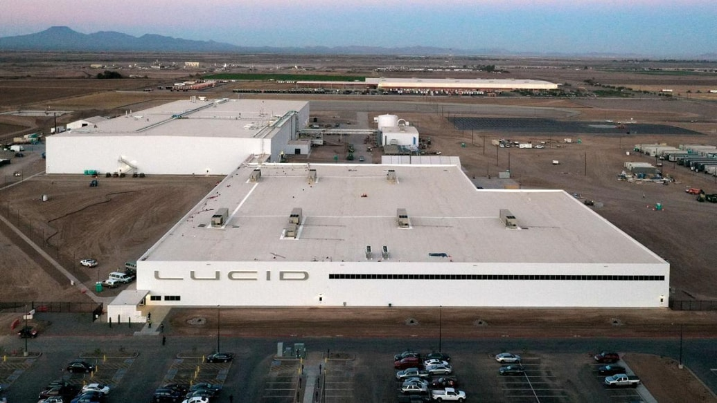 Lucid factory in Arizona