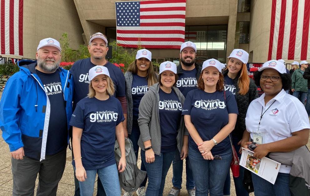 Greystar staff at a multifamily facility