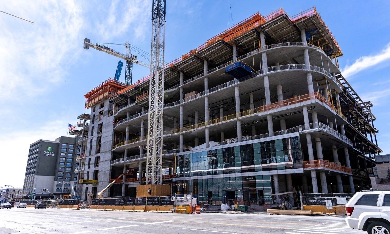 Multifamily building is on the rise in urban region