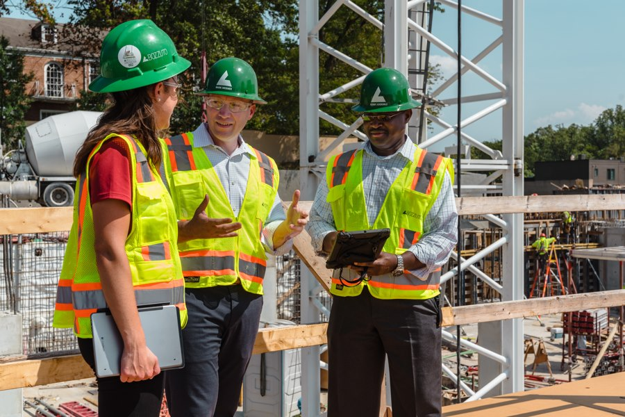 Walsh engineers collaborate with frontline workers