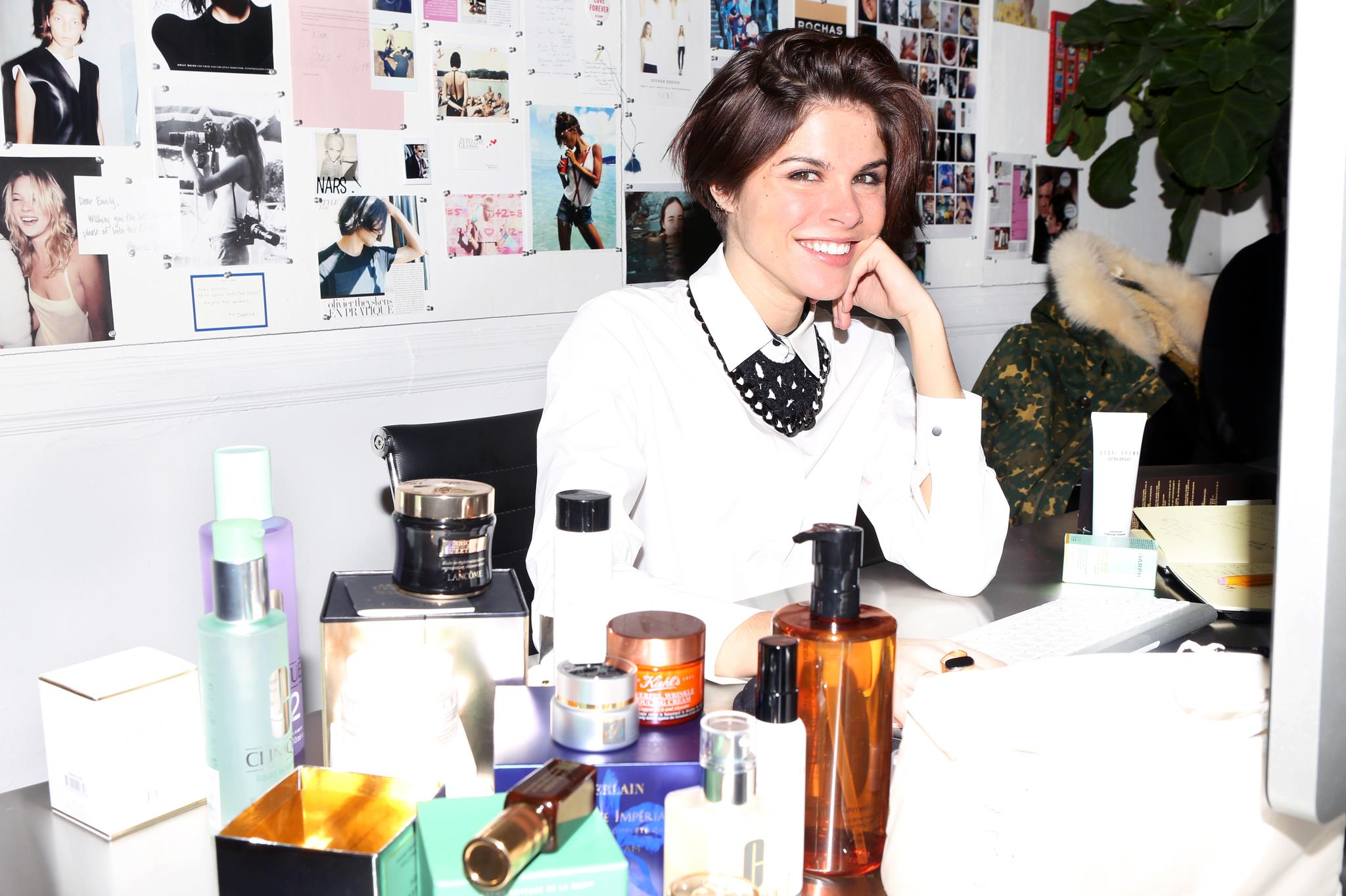 Emily Weiss in an interview with international cosmetics distributor