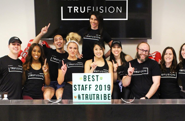 TrueFusion team in a branch location