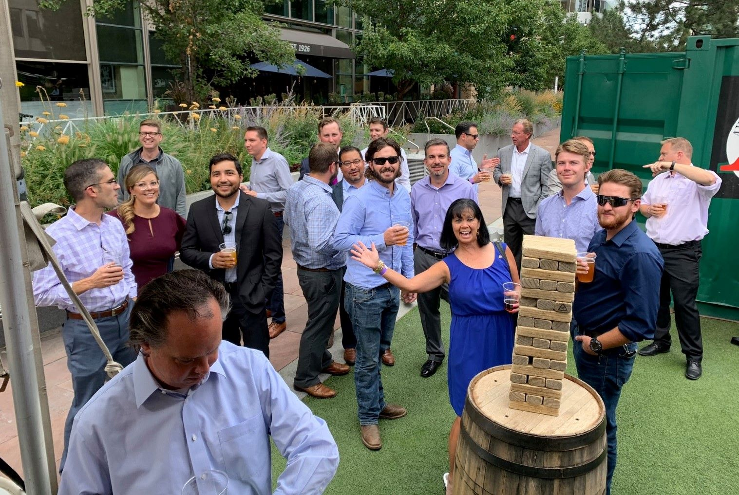 Beck engineers collaborate at an offsite event