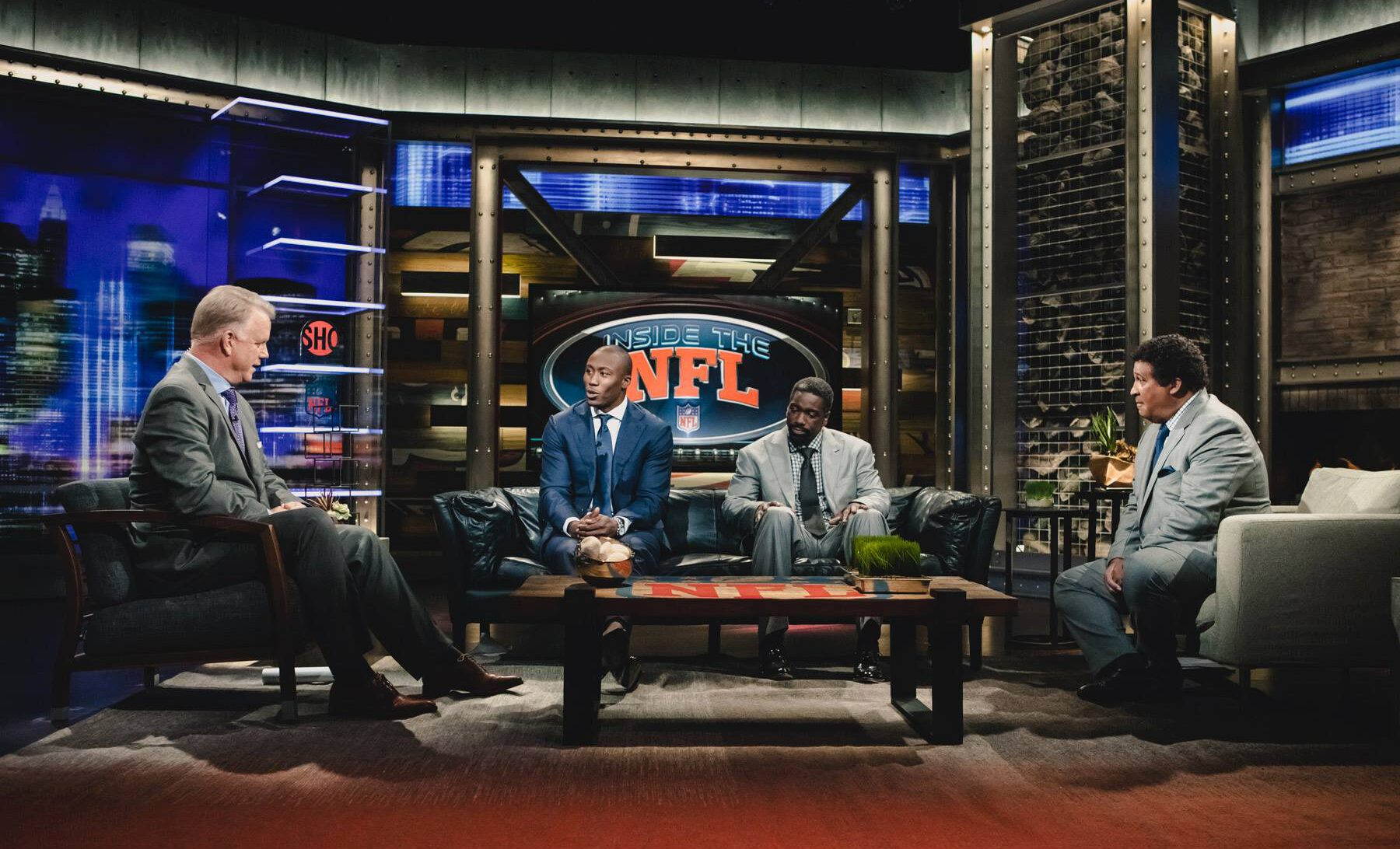 Brandon Marshall in an interview at the NFL showtime