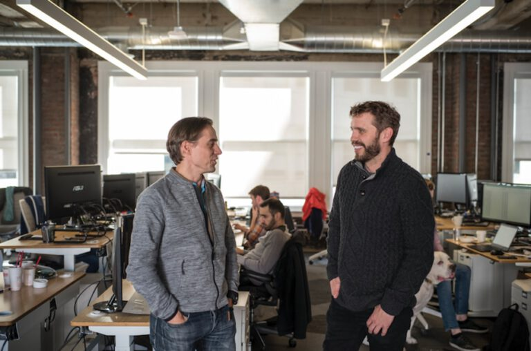 Flexport CEO collaborate with engineering lead