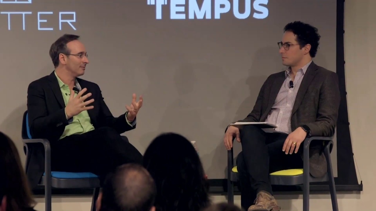 Tempus CEO shared story in a tech conference