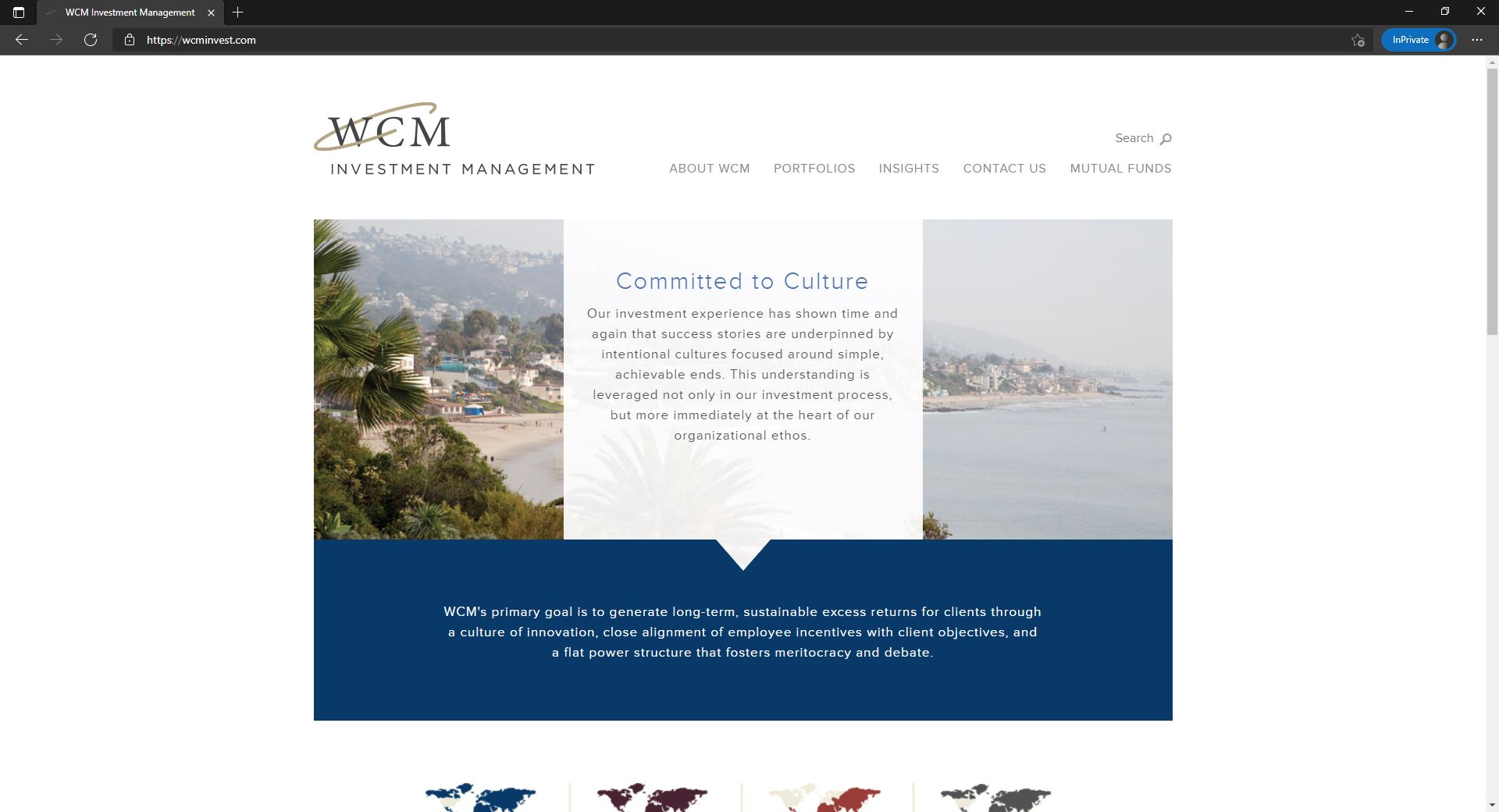 WCM Investment Management website
