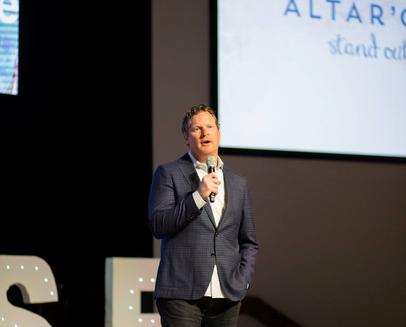 Altar'd State CEO present in a retail conference