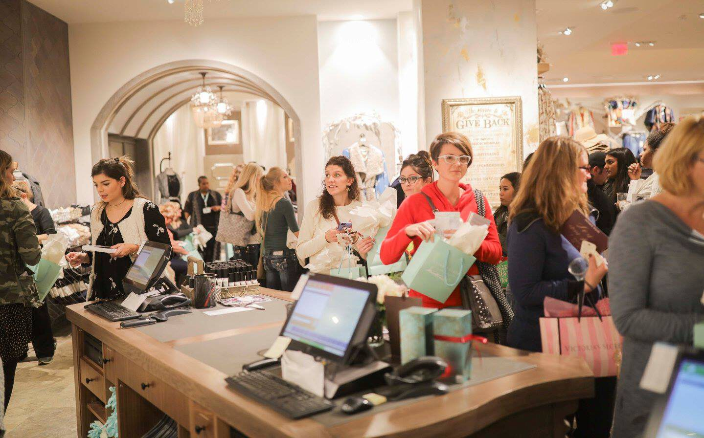 Altar'd State will full house of customers
