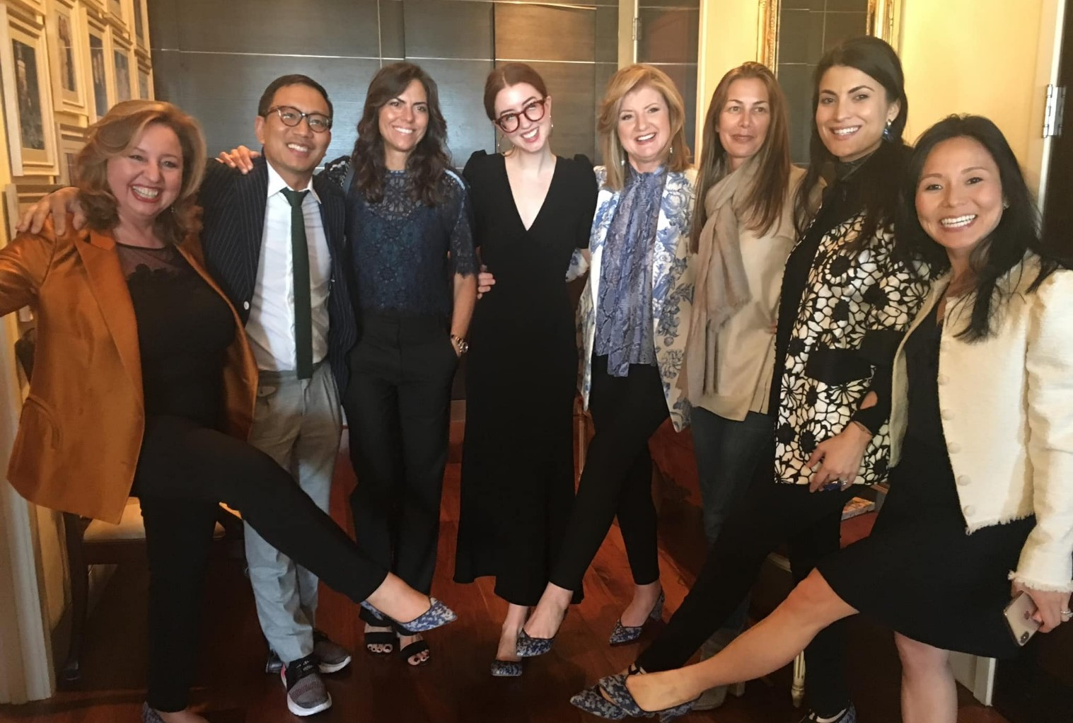 Arianna Huffington and the team at Thrive Global