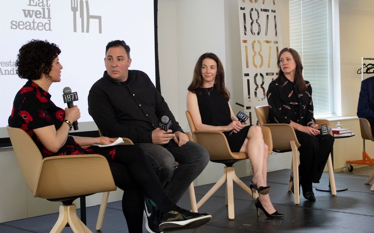 Gensler staff in a TED-like interview event
