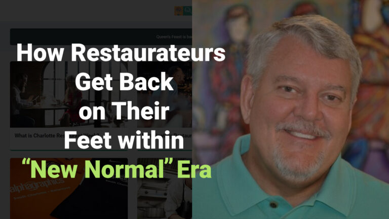 """How Restaurateurs Get Back On Their Feet Within """"New Normal"""" Era"""