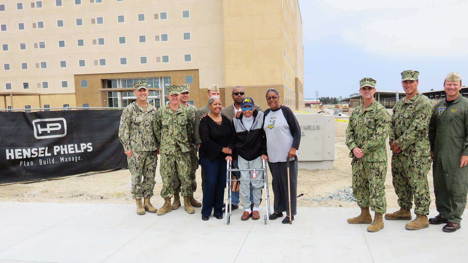 Hensel Phelps staff collaborate with military authorities