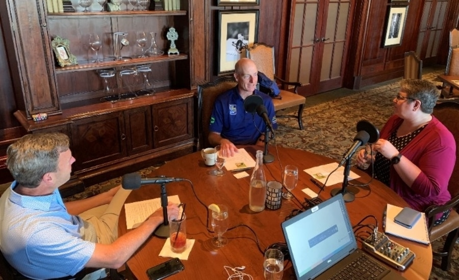 Cherry Bekaert CEO in a podcast
